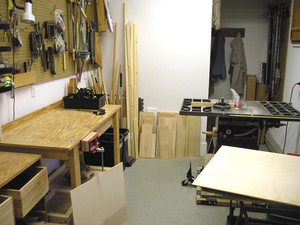 a tidy shop